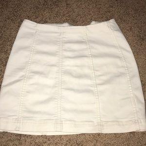 White Free People Skirt